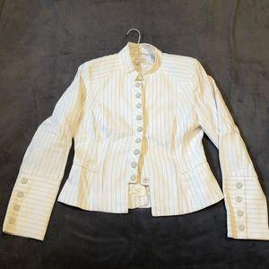 Zara linen cotton blazer